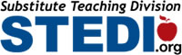 Logo for Substitute Teaching Division STEDI.org