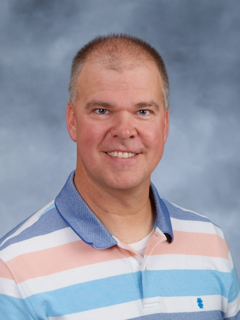 Interim Principal Matt Guenther headshot