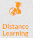 Distance learning global icon