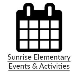 Sunrise Elementary Events & Activities